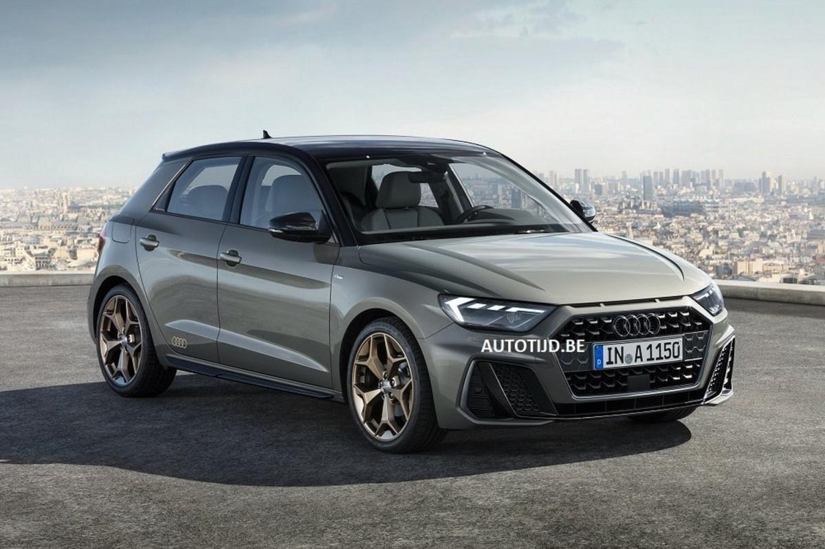 Автомобильный концерн Ауди обнародовал фотографии нового миникара A1