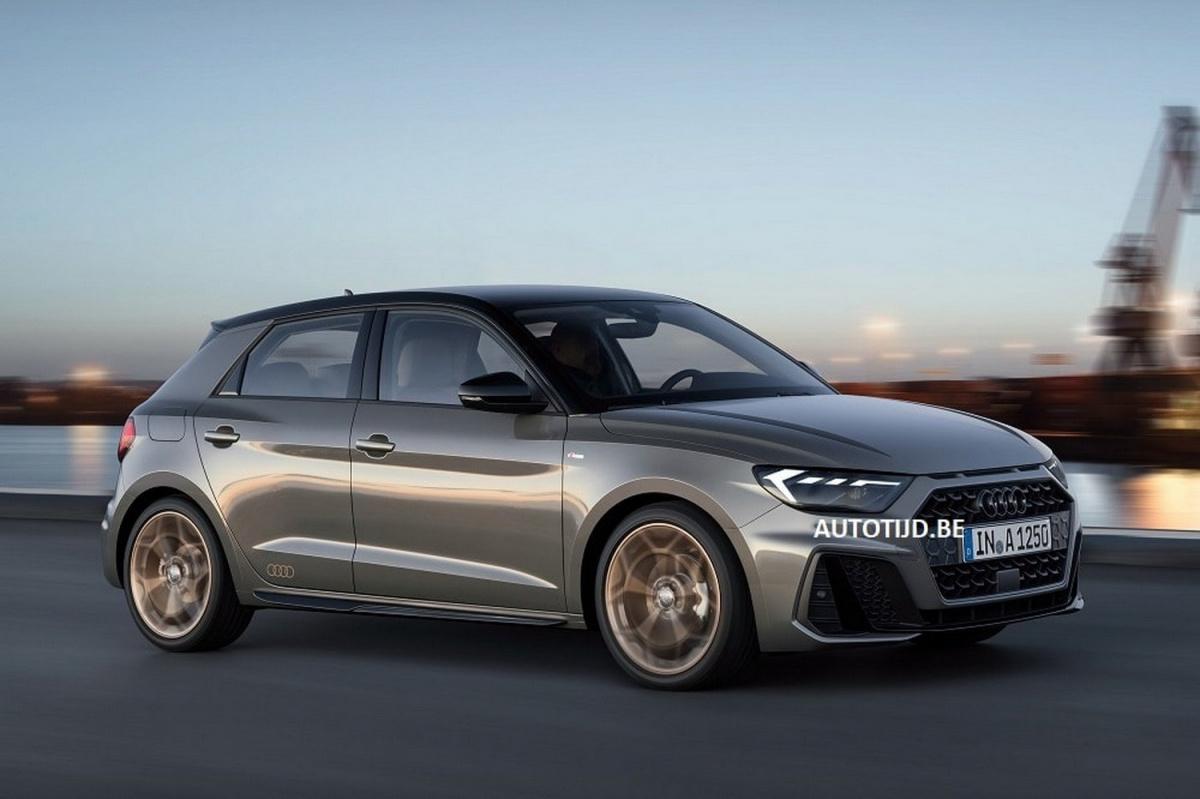 Спортивная Ауди S1 обновленного поколения получит 250-сил