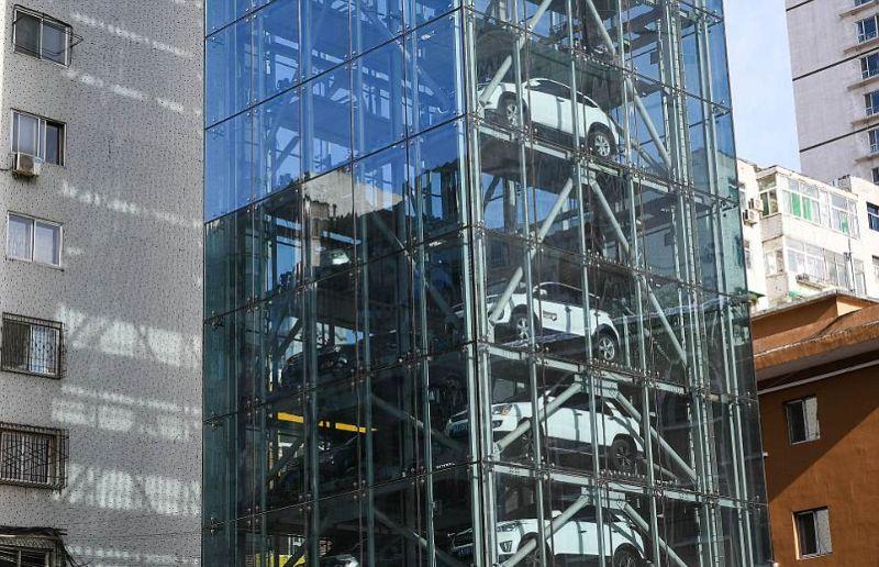 В Китае построен самый высокий паркинг в мире