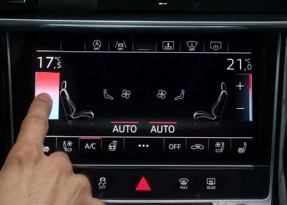 MMI touch Audi A8
