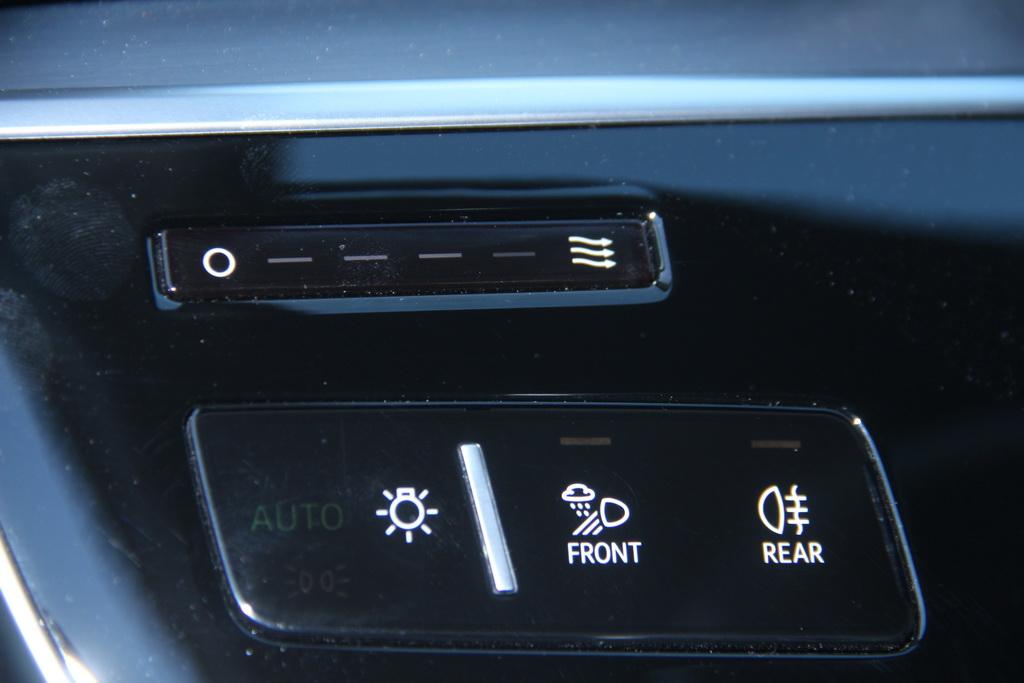Сенсорное управление в Audi A8