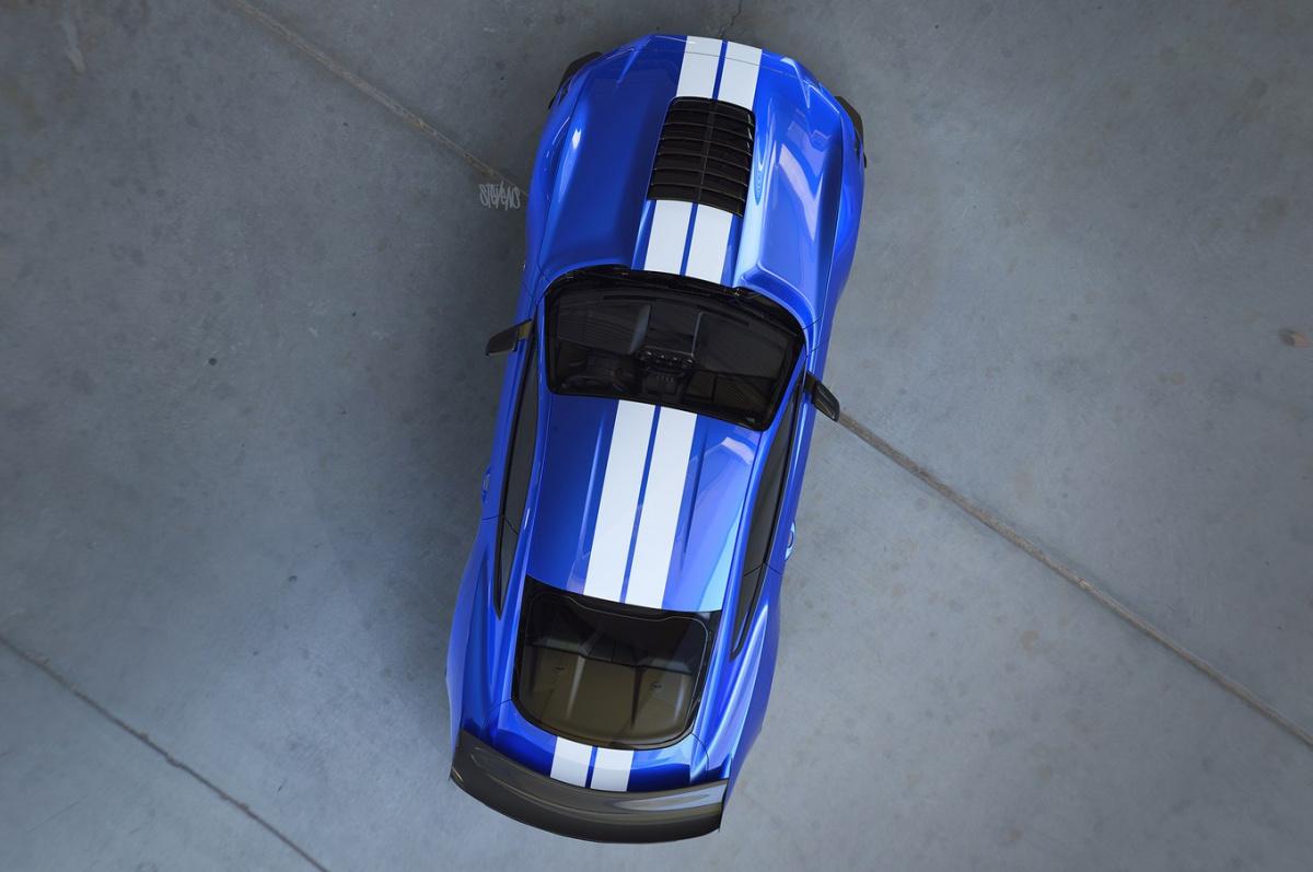 Самый мощный и самый быстрый Ford Mustang рассекречен на фото