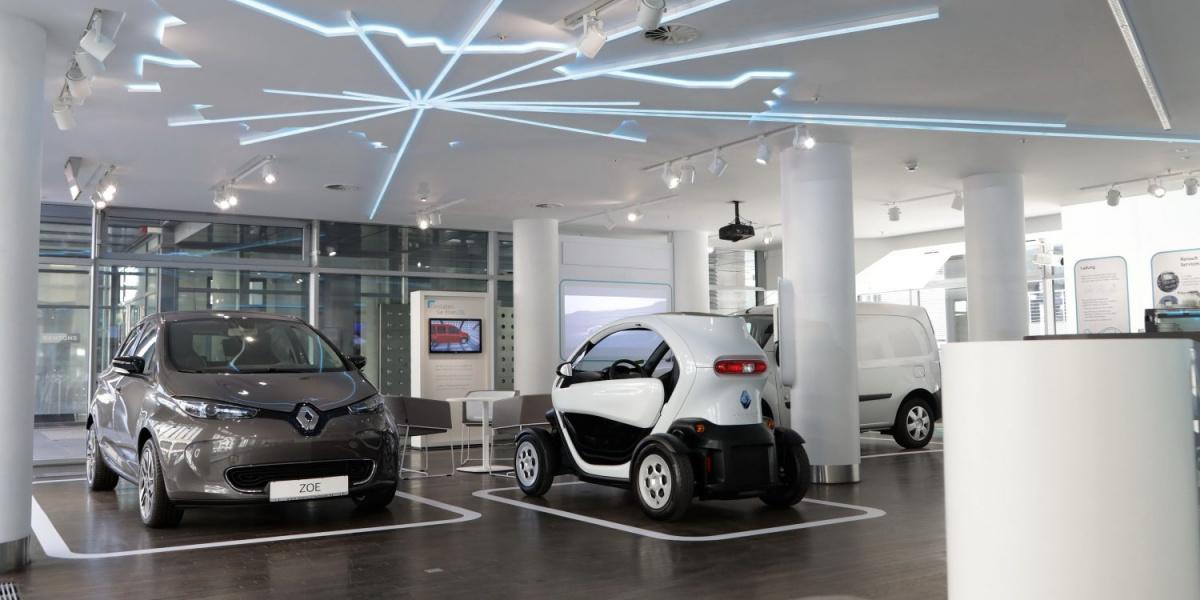 Шоурум электромобилей Renault
