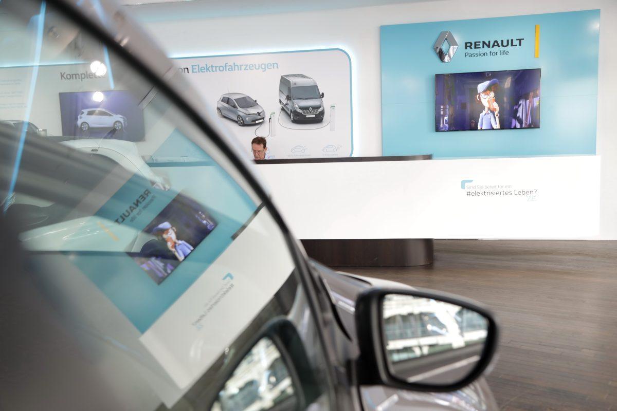 Шоурум электромобилей Renault Берлин