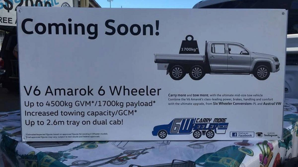 Шестиколесный Volkswagen Amarok появится уже в этом году