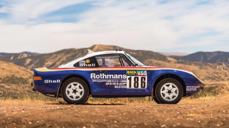 Раллийный спорткар Porsche уйдет с молотка за $3 миллиона