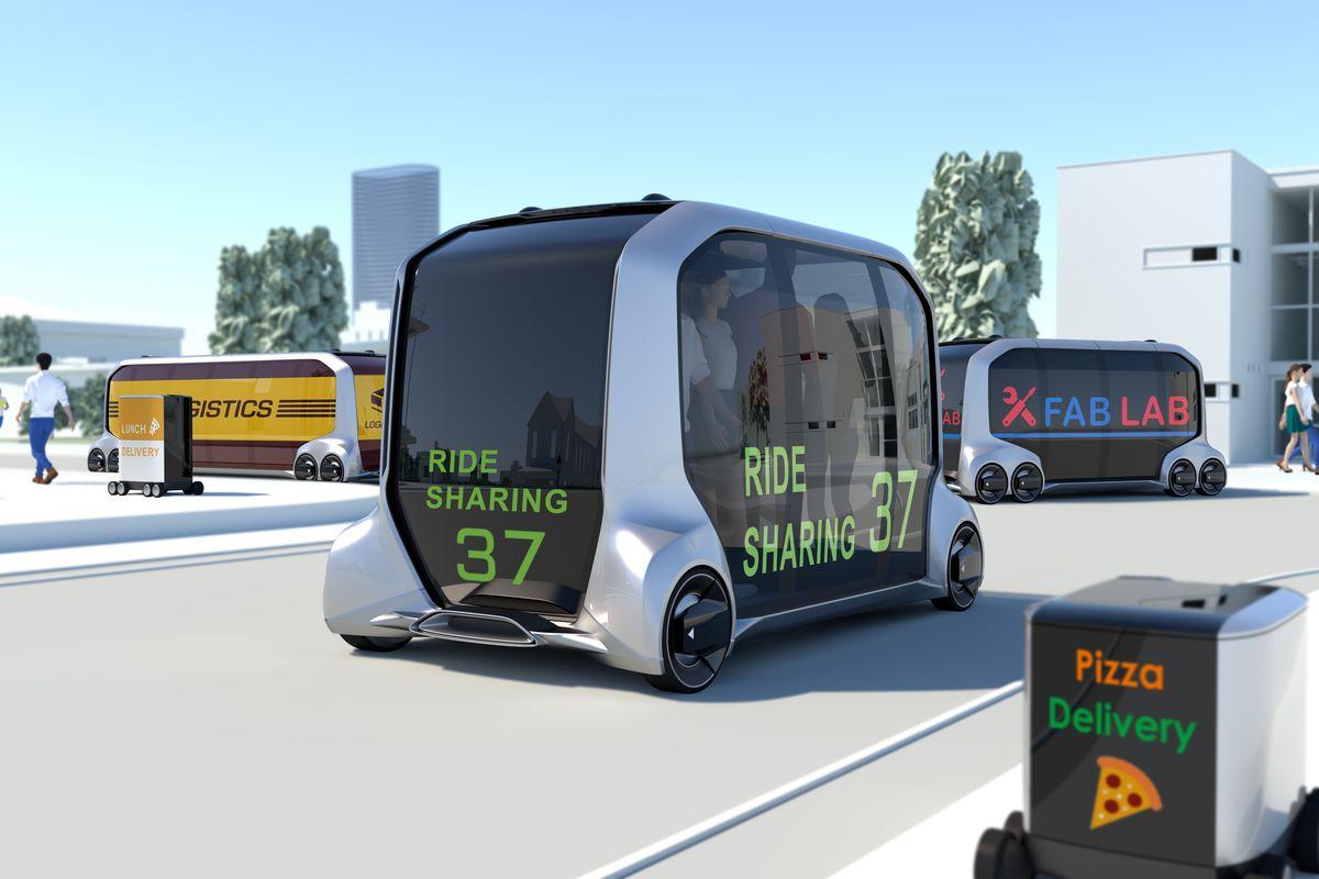 автономный общественный транспорт