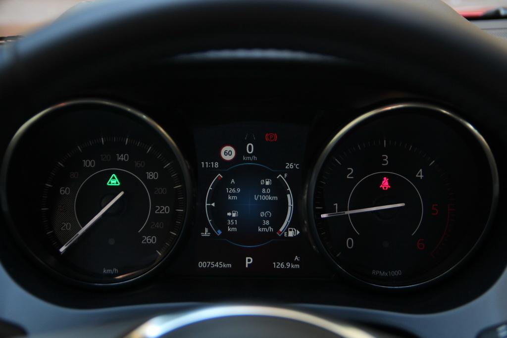 Приборы Jaguar E-Pace