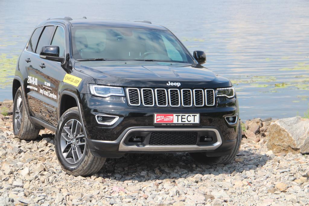 Внешность Jeep Grand Cherokee 2018