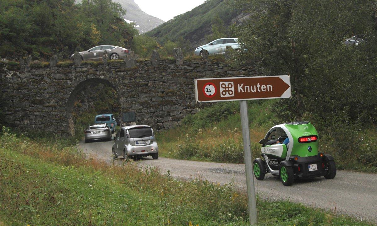 Норвежская электромобильность