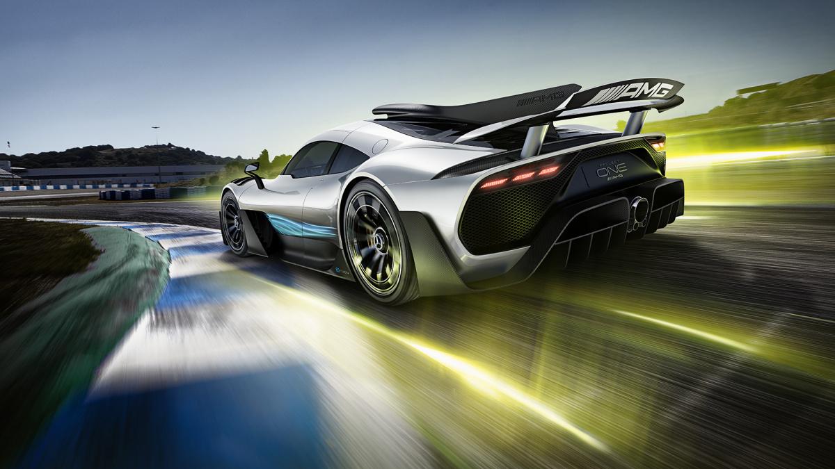 Mercedes AMG Project 1 против Divo