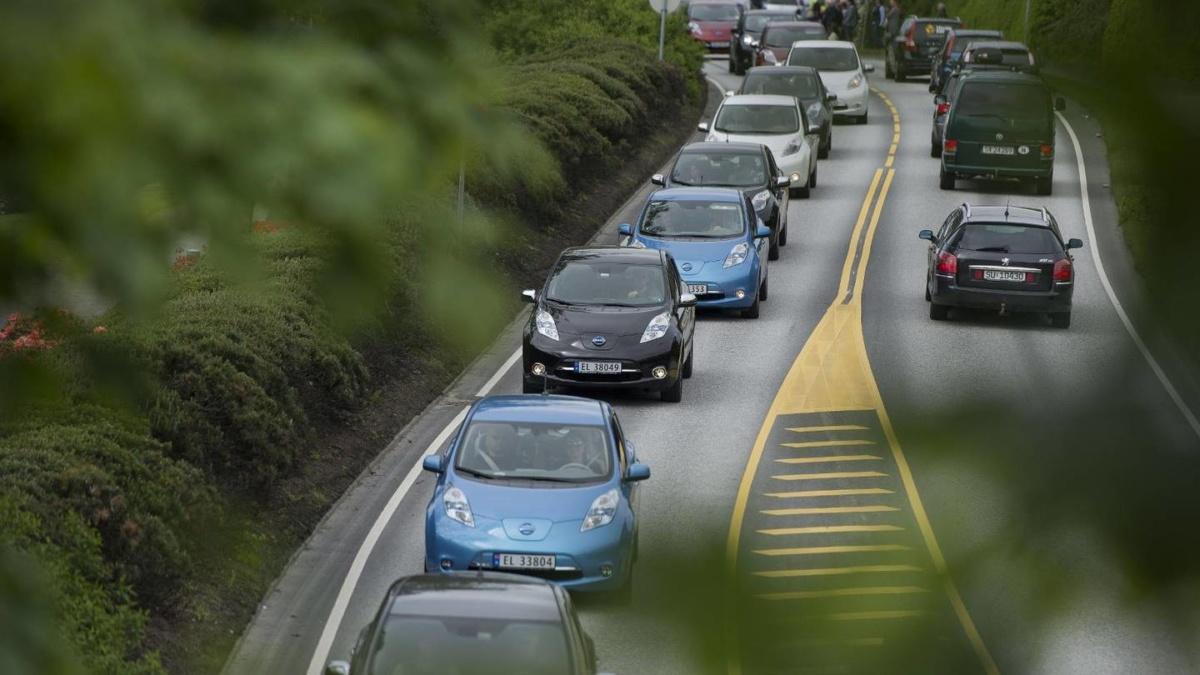 Электромобили на дорогах Норвегии