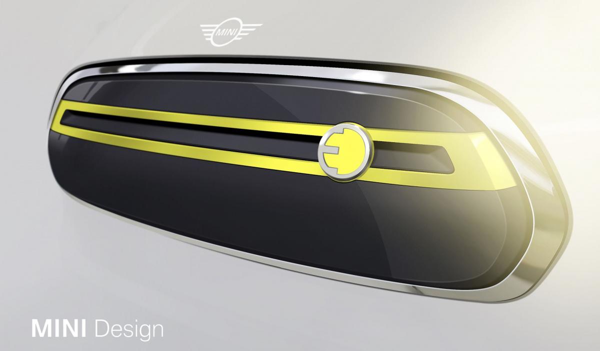Мини показала первые наброски серийного электрокара— EVmode.ru— Правильные автомобили
