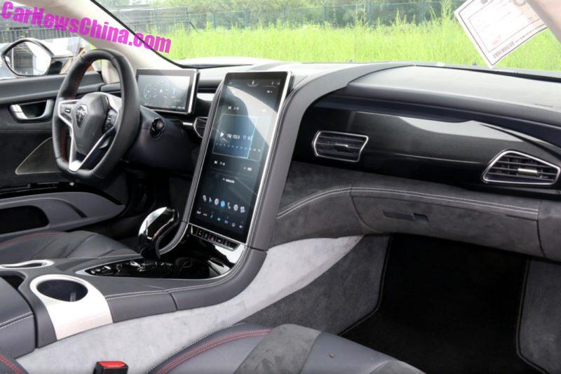 В Китае создали электрический спорткар за $150 тысяч