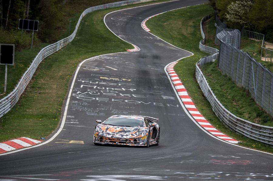 Новейший Lamborghini Aventador SVJ установил рекорд Нюрбургринга