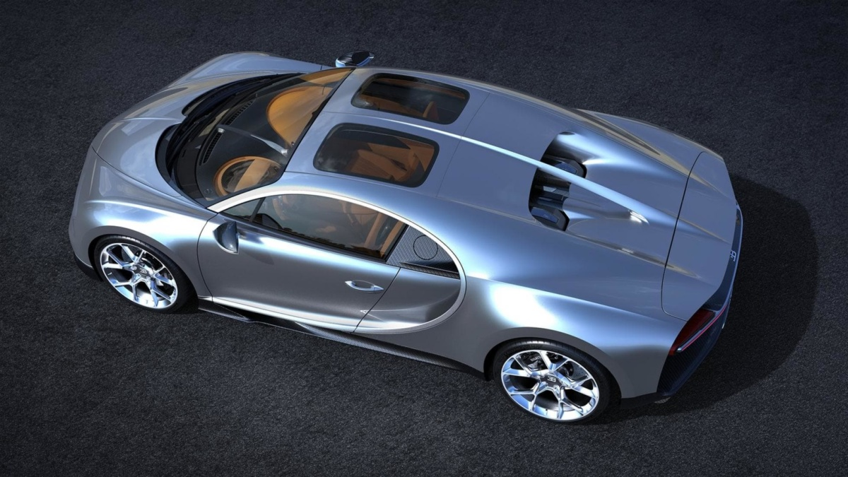 Bugatti Chiron обзавелся необычной опцией