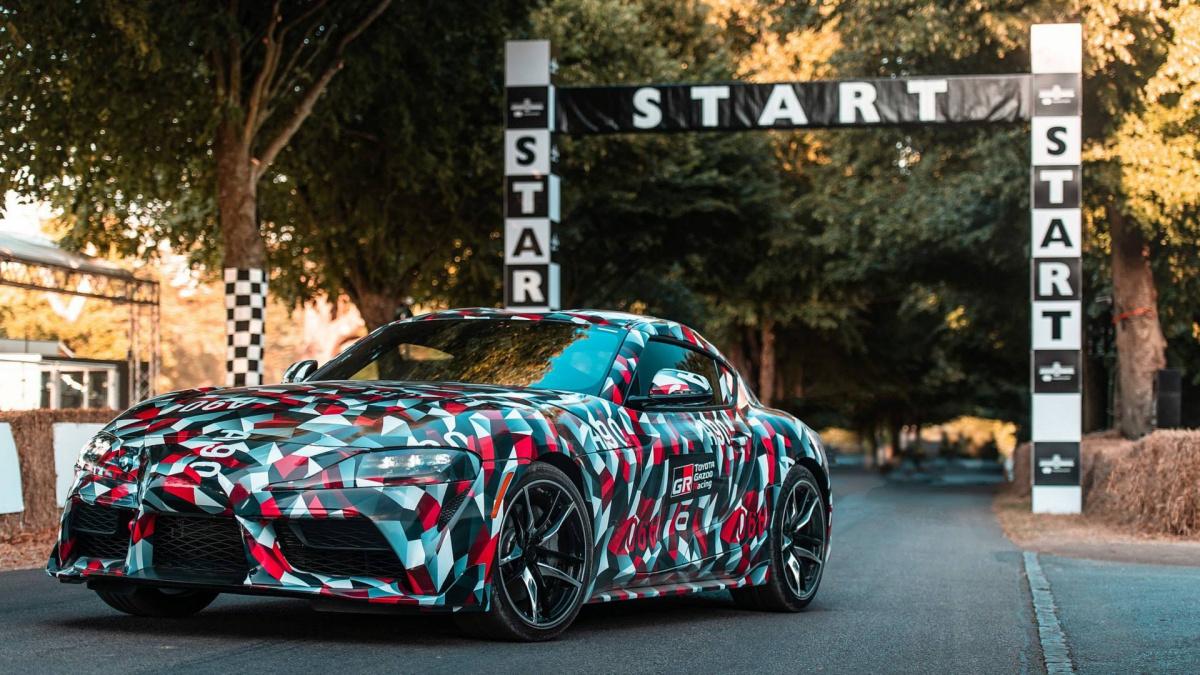 Спорткар Toyota Supra 2019 стал главной новинкой автошоу в Гудвуде