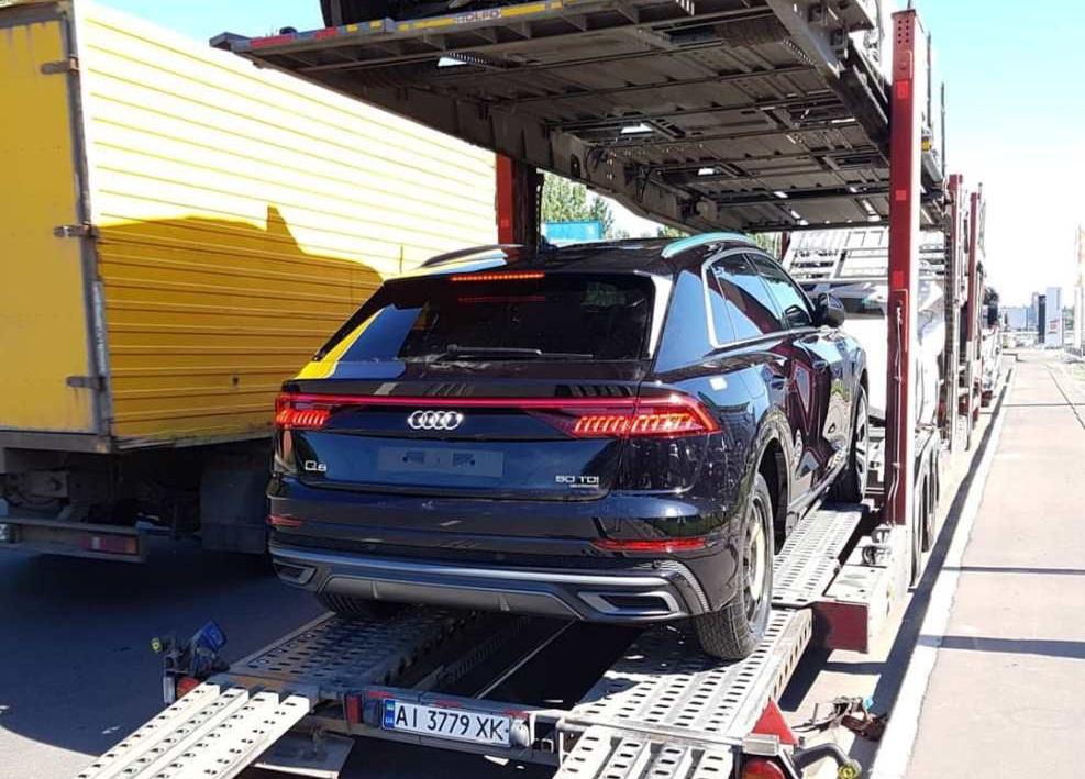 В Украине появился новый Audi Q8 2019