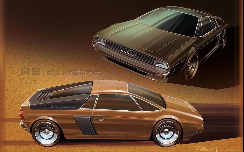 Audi R8 1980