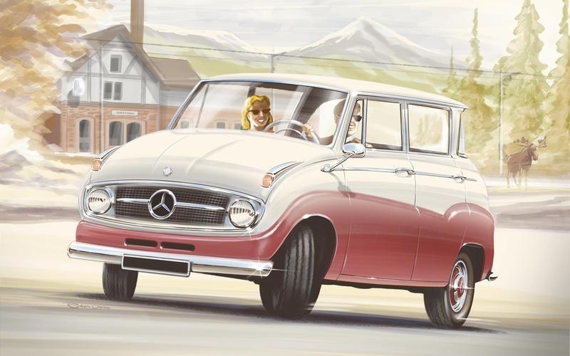 Mercedes-Benz A-Class 1955
