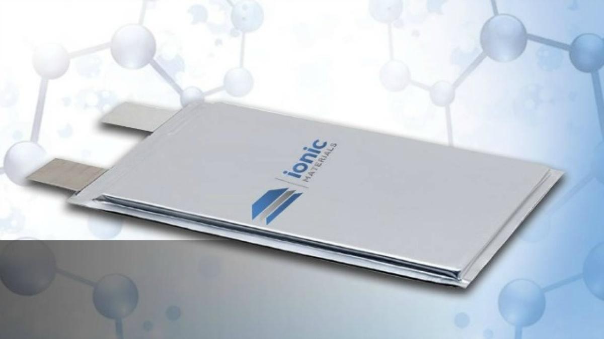 твердотельная батарея Ionic