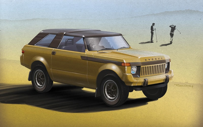 Range Rover Evoque 1979