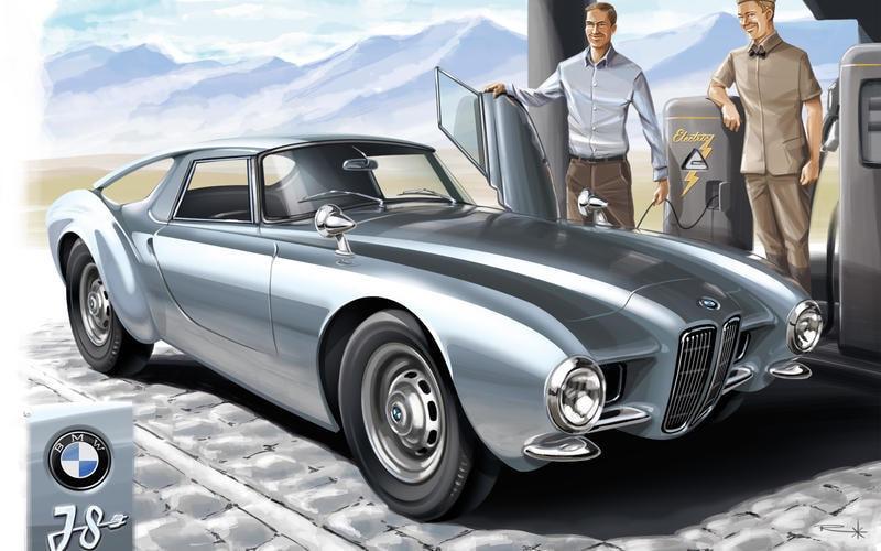 BMW i8 1956
