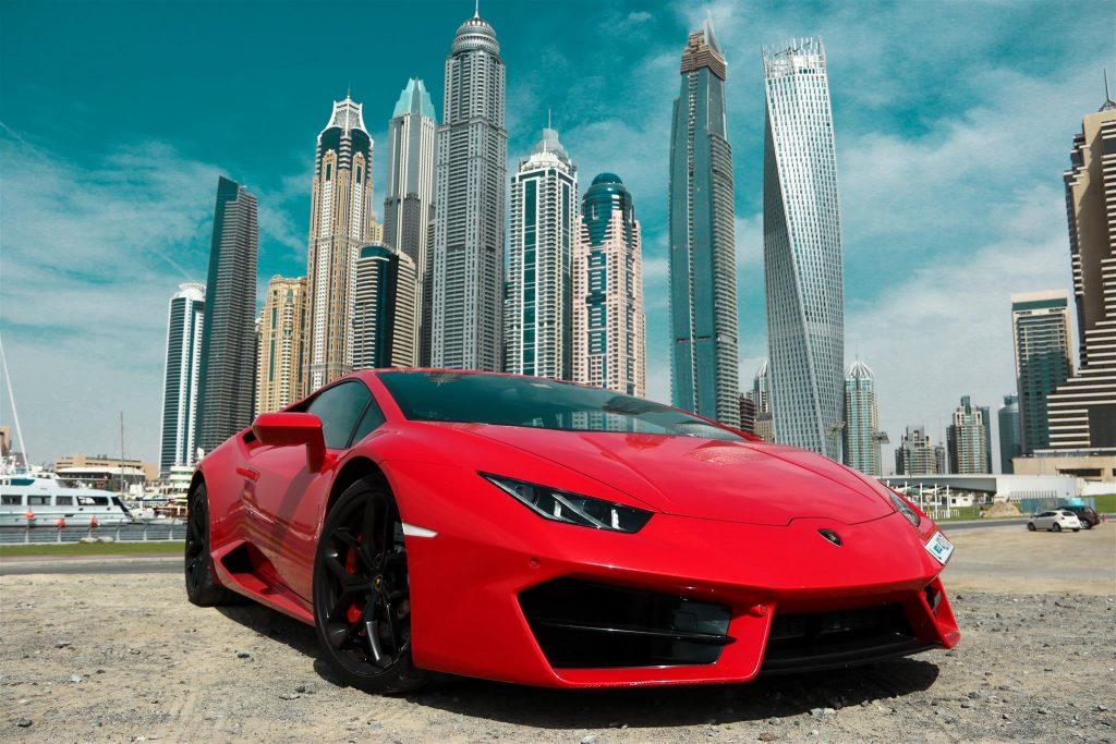 Lamborghini Huracán аренда в Арабских Эмиратах