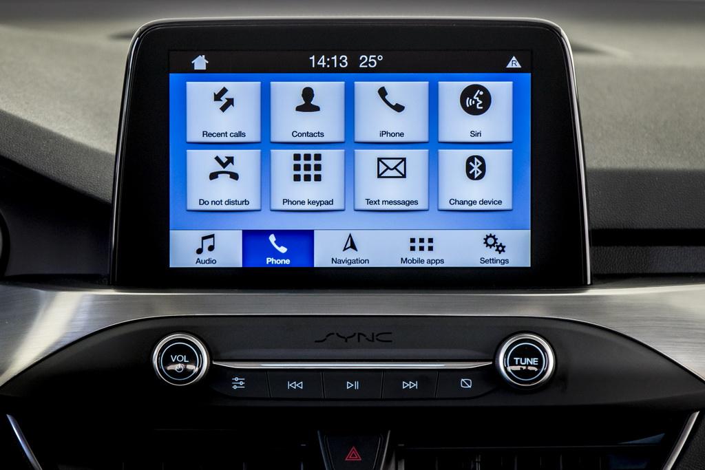 Мультимедийная система Ford Focus 2018