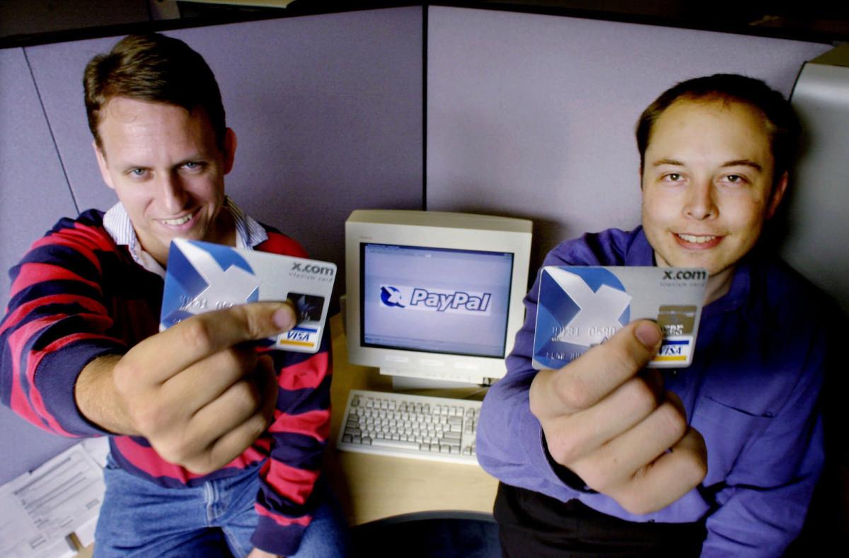 Илон Маск и PayPal