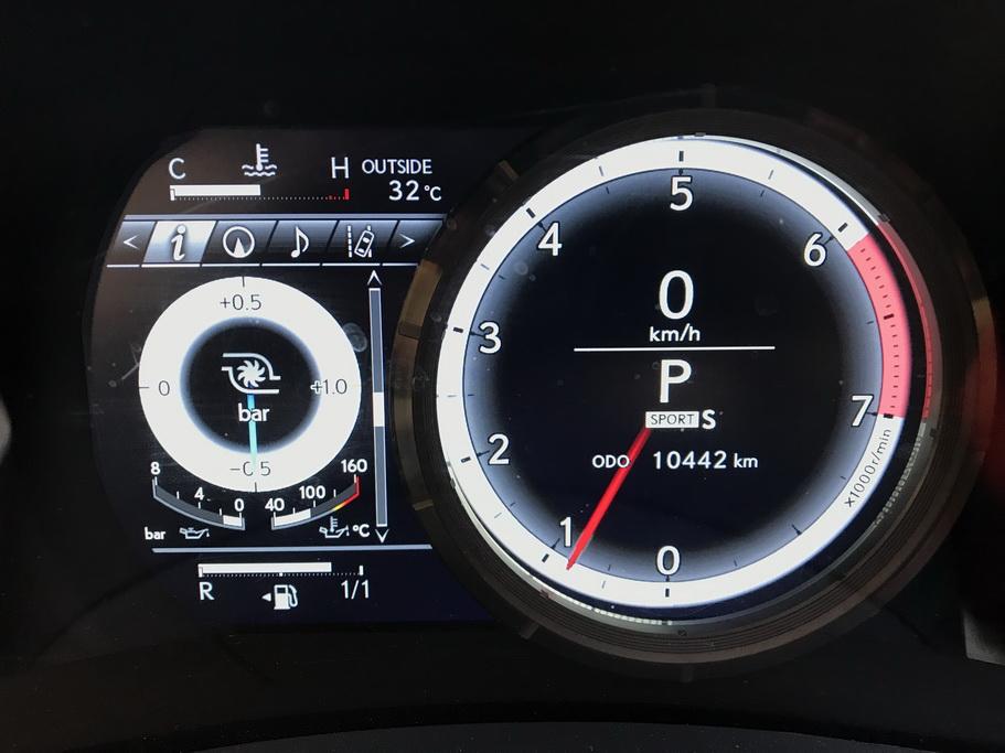 Приборы Lexus RC 200t