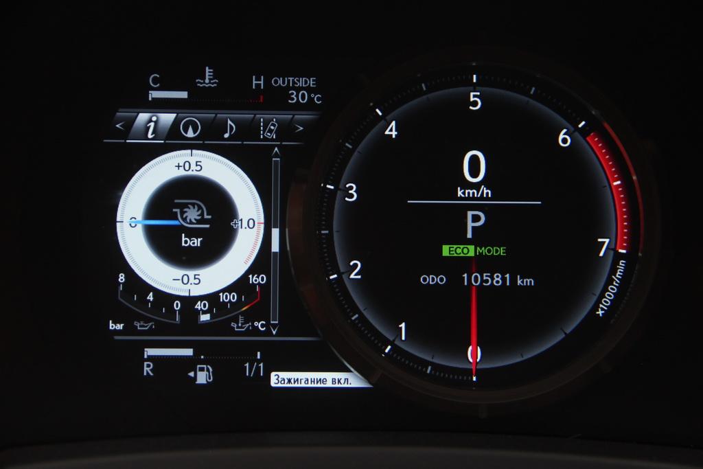 Щиток приборов Lexus RC 200t