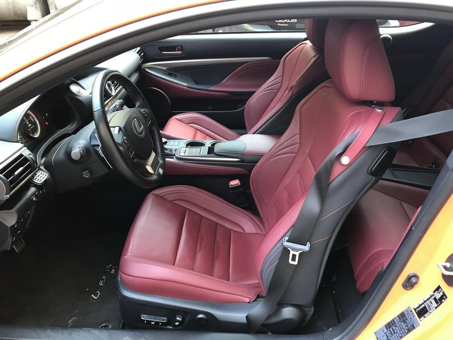 Сиденья Lexus RC 200t