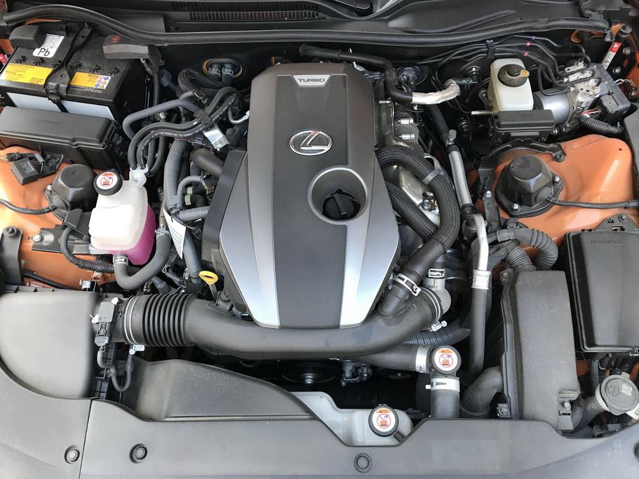 Мотор турбо Lexus RC 200t