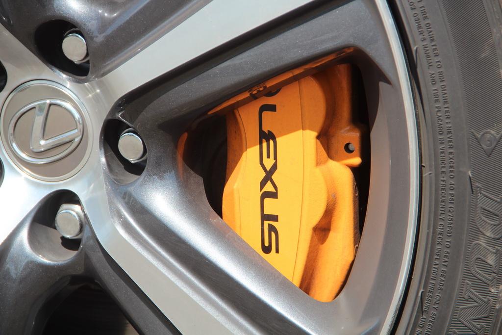Тормоза Lexus RC 200t