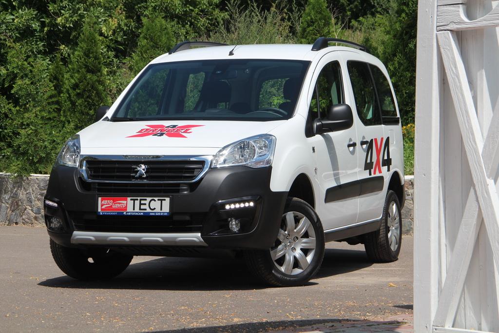 Внешность Peugeot Partner Tepee 4x4