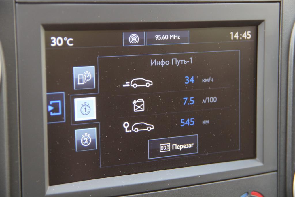 Расход топлива Peugeot Partner Tepee 4x4
