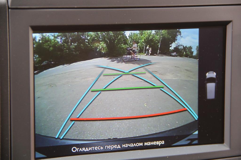 Peugeot Partner Tepee 4x4 камера заднего вида