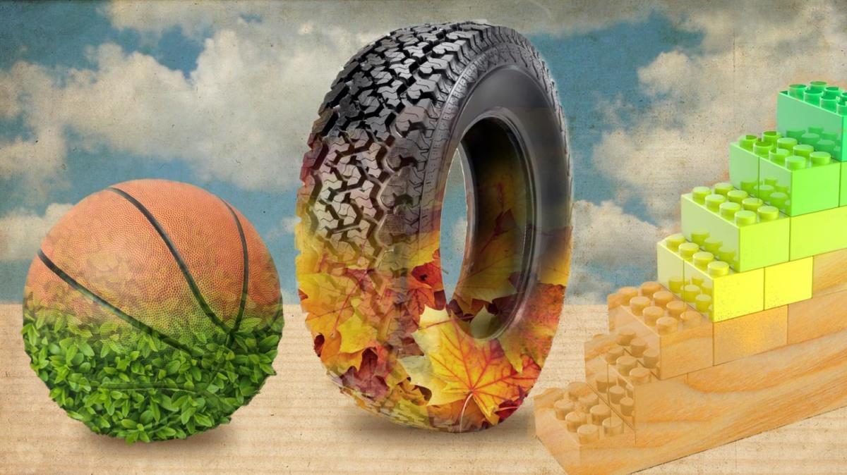 автомобильные шины из натурального сырья