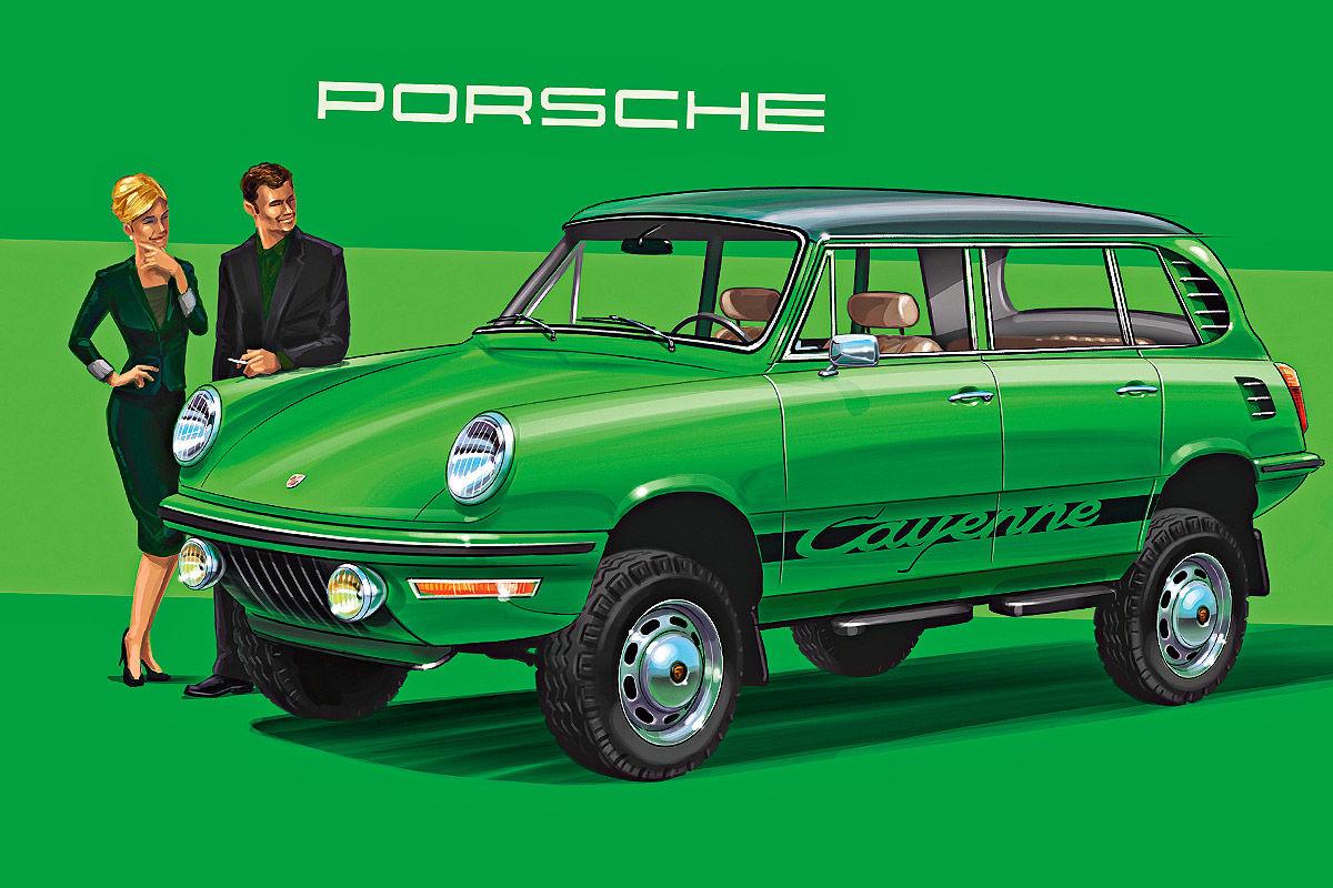 Porsche Cayenne 1972