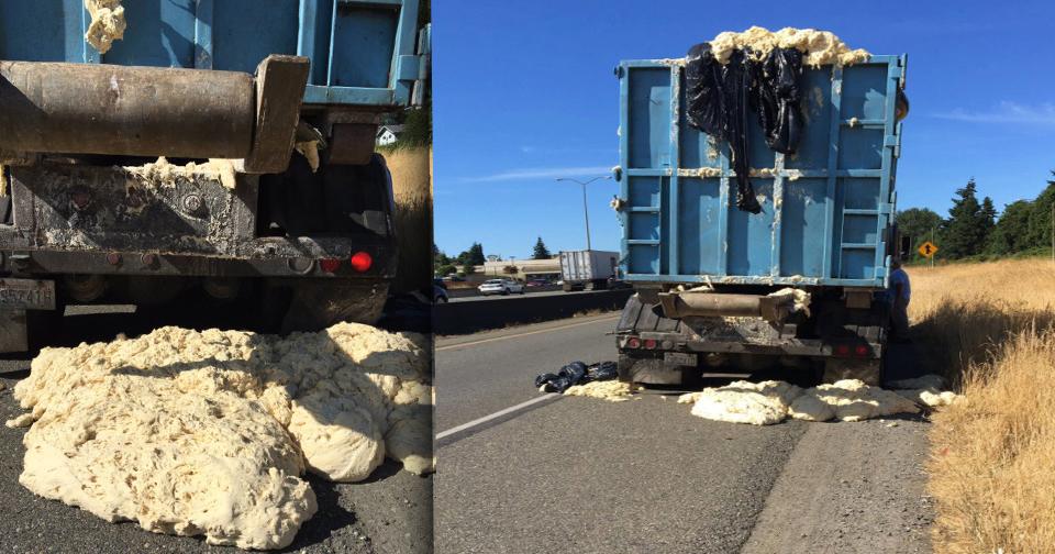10 самых необычных грузов потерянных при ДТП - колобки убежали