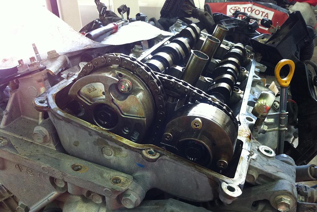 Мотор 3,5 л Toyota Camry