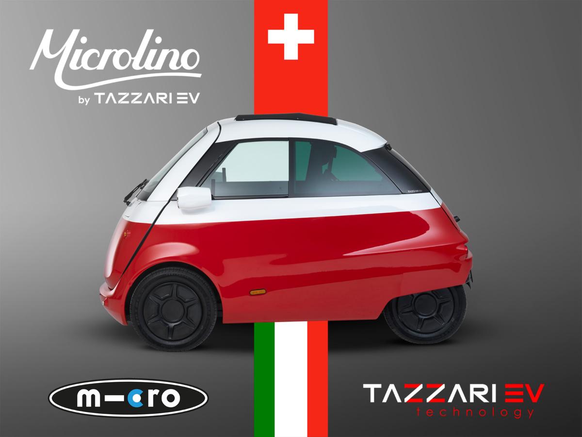 Электромобиль Microlino