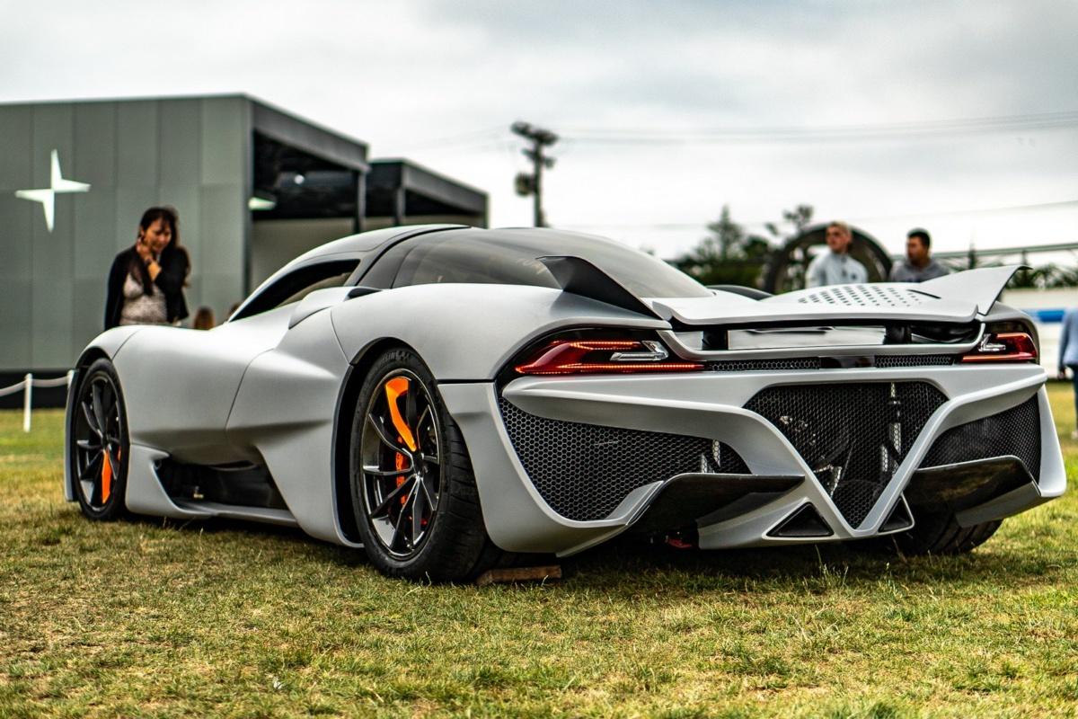 Новый американский гиперкар бросит вызов Bugatti Chiron