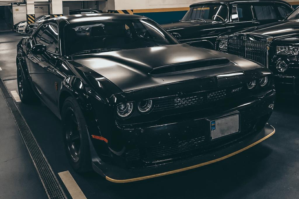 В Украине засняли 840-сильный Dodge Challenger Demon
