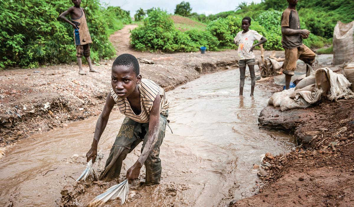 Добыча кобальта в Конго