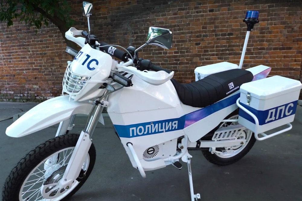 электрический мотоцикл Калашников