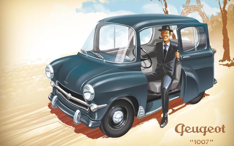 Peugeot 1007 1955