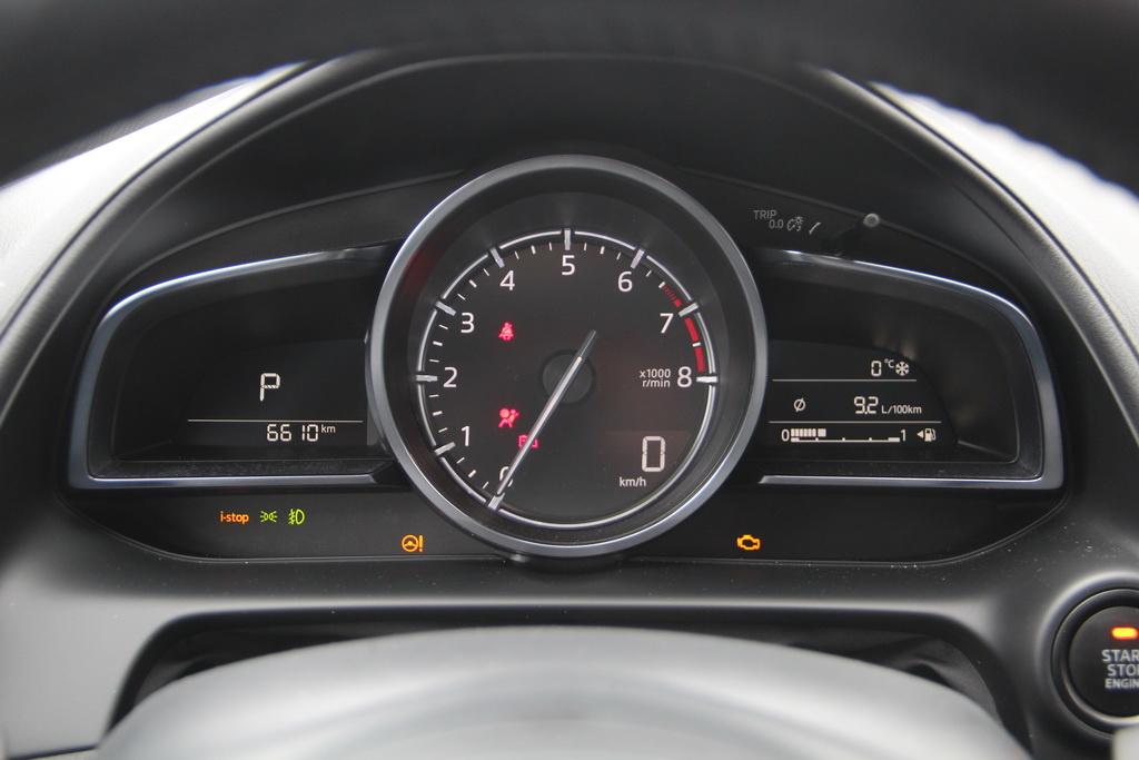 Расход топлива Mazda CX-3