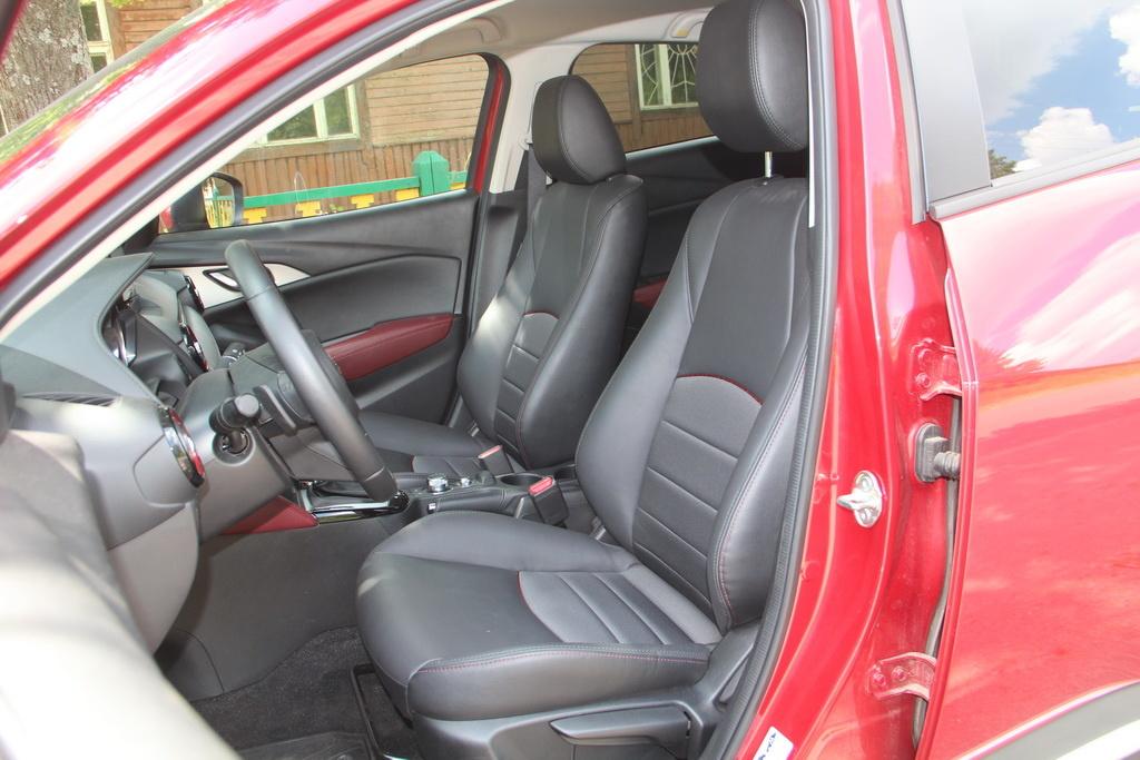 Сиденья Mazda CX-3